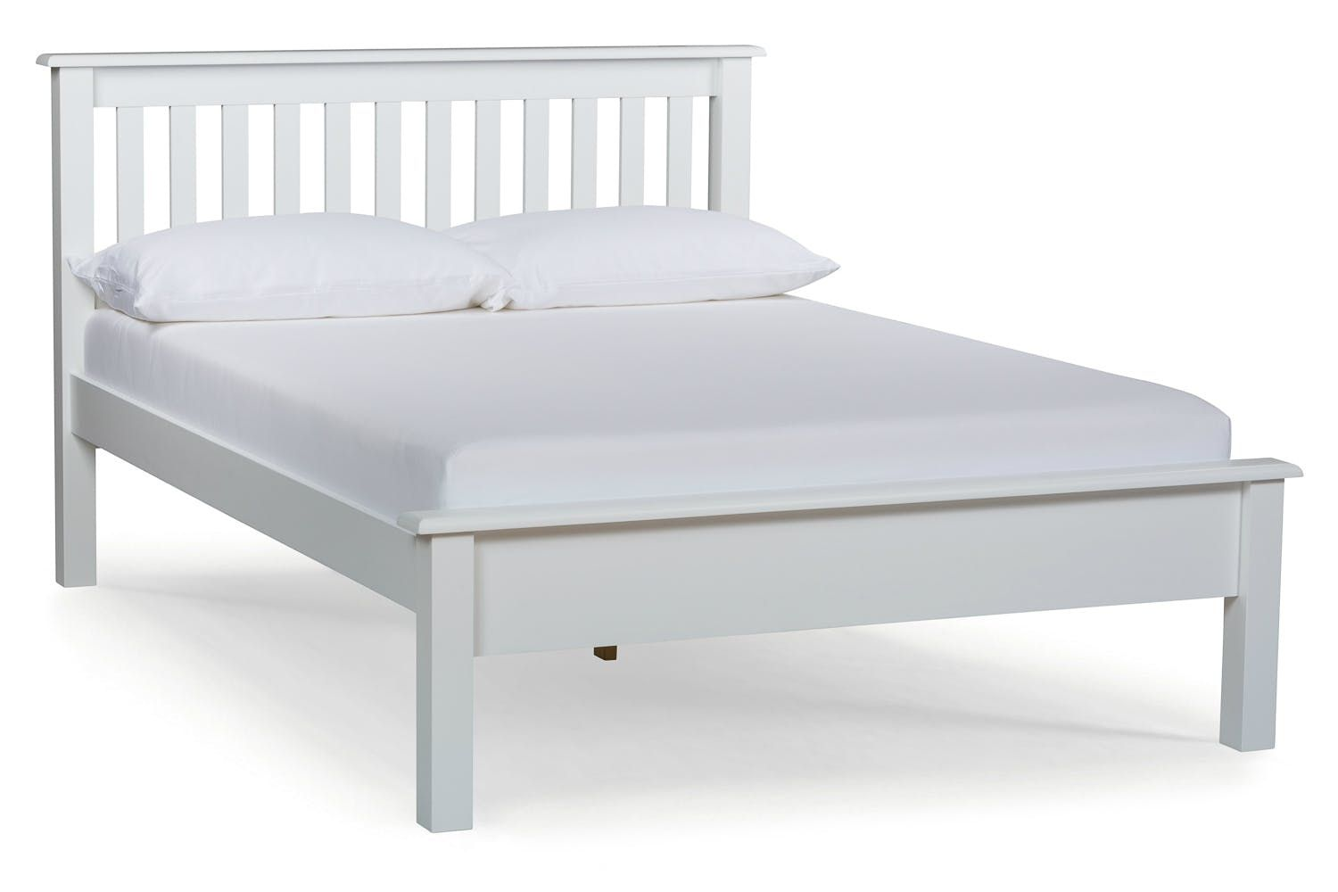 Image Result For White Bed Frame Double White Wooden Bed White