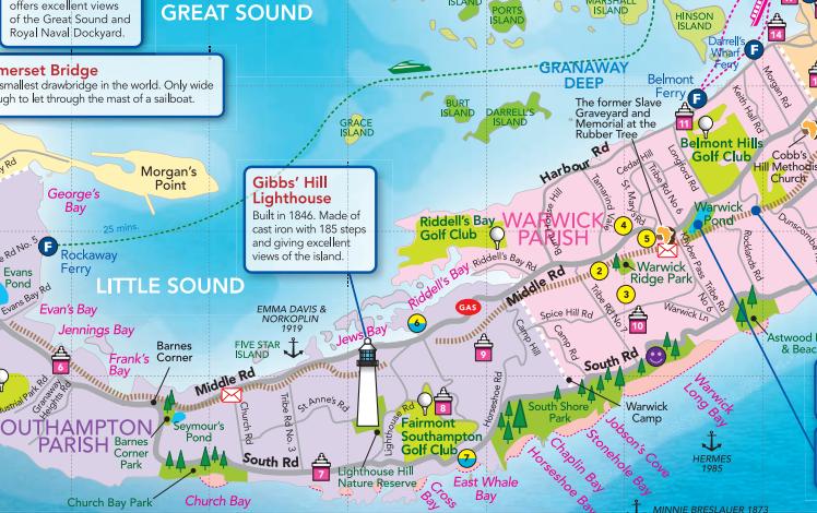 Bermuda Map Beaches Bermuda map | Bermuda | Bermuda vacations, Bermuda beaches