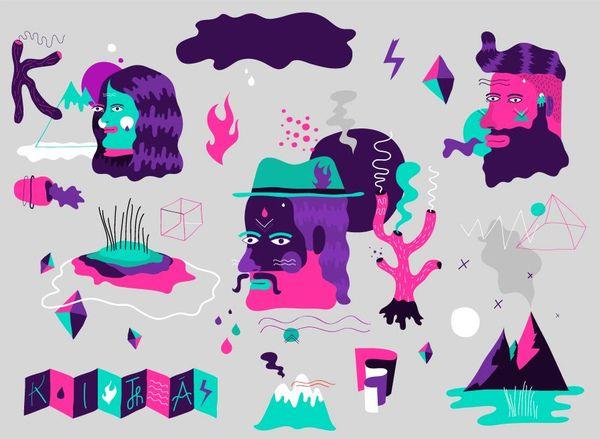 Digital illustration by Kitră , via Behance
