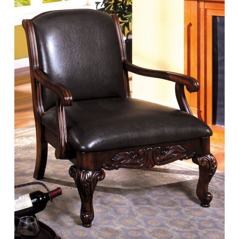Furniture Of America Lima Traditional Arm Chair Idf Ac6177