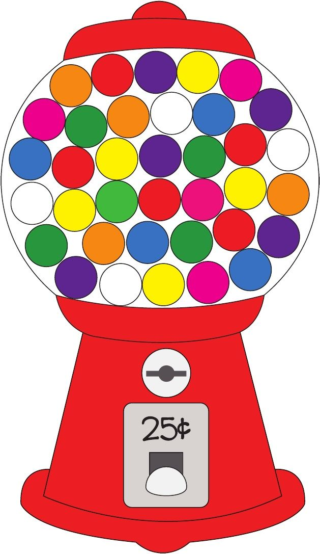 photo relating to Printable Gumball Machine titled Gumball Unit Printable: terms colour Scribd Birthday