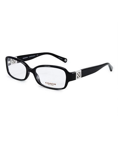Another great find on #zulily! Black Rectangle Eyeglasses