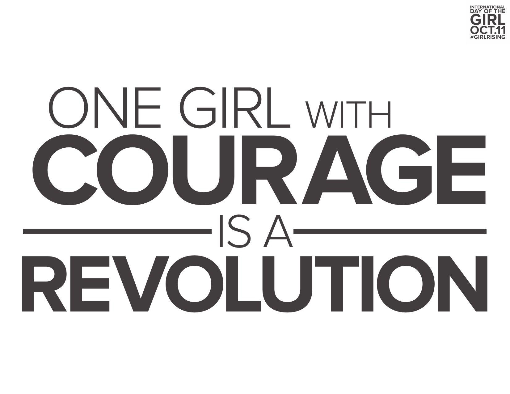 Girl Rising Slogan Poster: | Inspirational | Pinterest | Inspirational