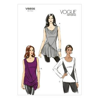 Vogue Misses' Top-14-16-18-20-22 Pattern