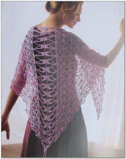 Free Crochet Lace Shawl Patterns Triangle Crochet