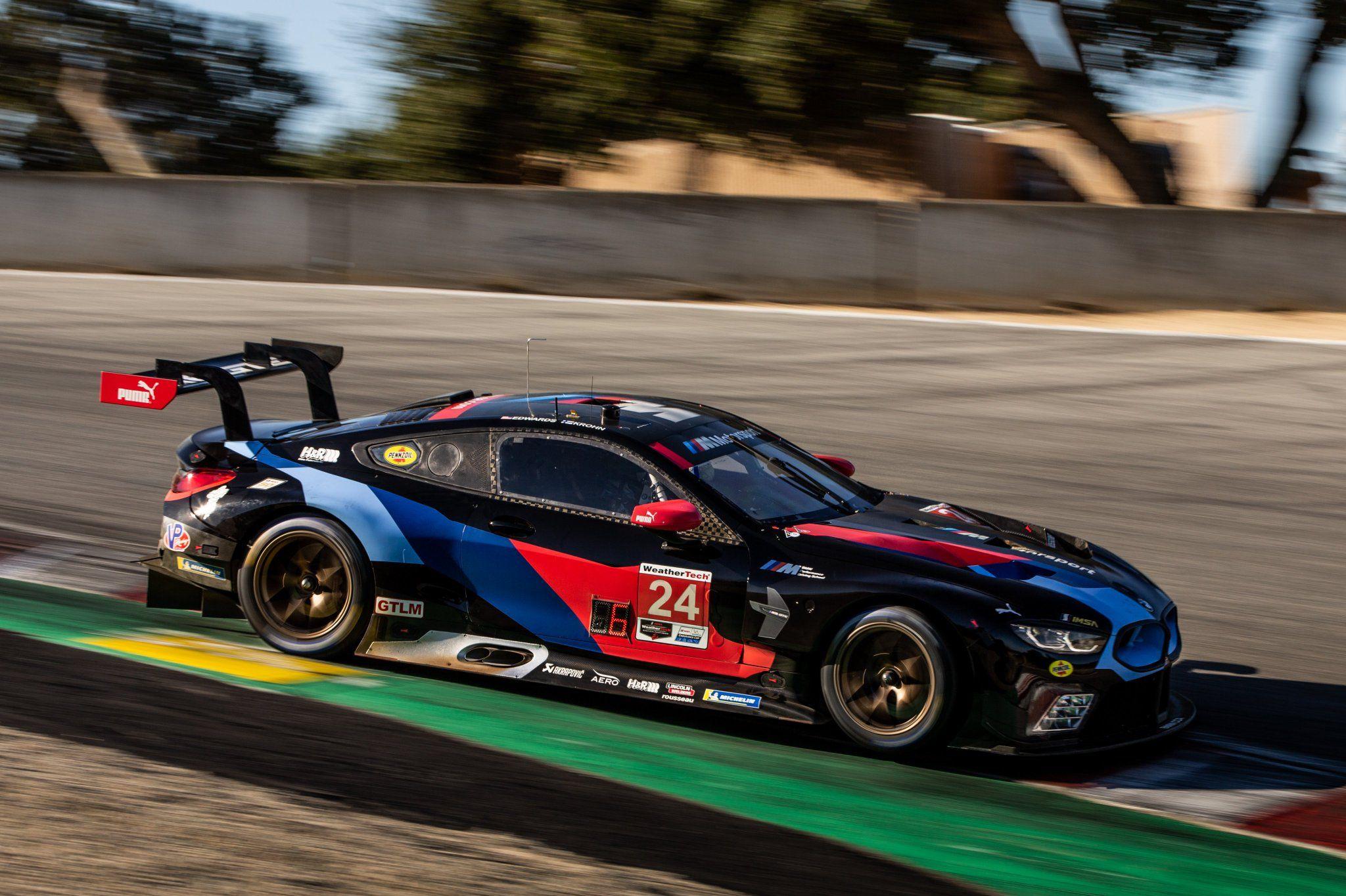 Bmw M8 Gte Imsa Motorsport Racing