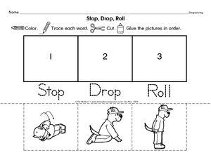 Stop Drop And Roll Activities For Preschoolers