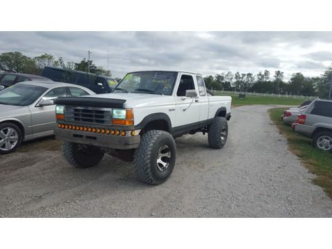 Lifted 1992 Ford Ranger 4x4 4 0 Liter V6 5 Speed Custom Wide