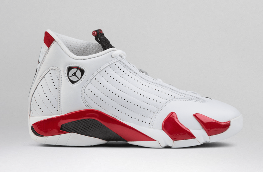 cheap for discount 839b6 533b8 Air Jordan 14 Rip Hamilton (487471-100) in White, Varsity Red, Metallic  Silver, Black release date is April 6th, 2019 for retail price  190.