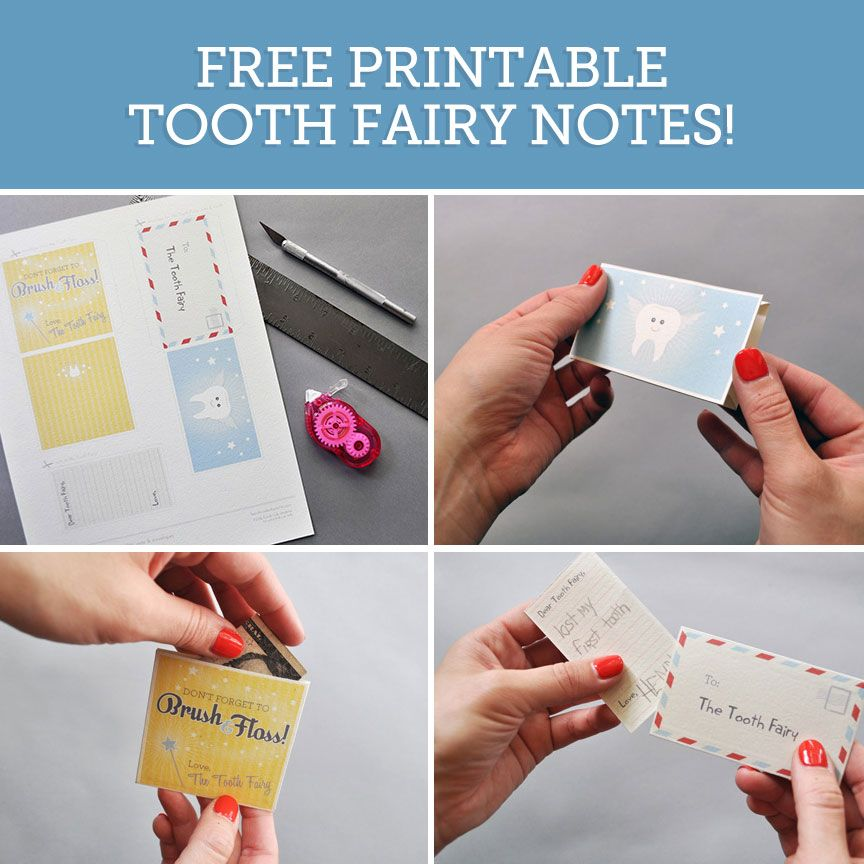 Printable Tooth Fairy Notes Tooth fairy, Grandparents and Free - downloadable receipt