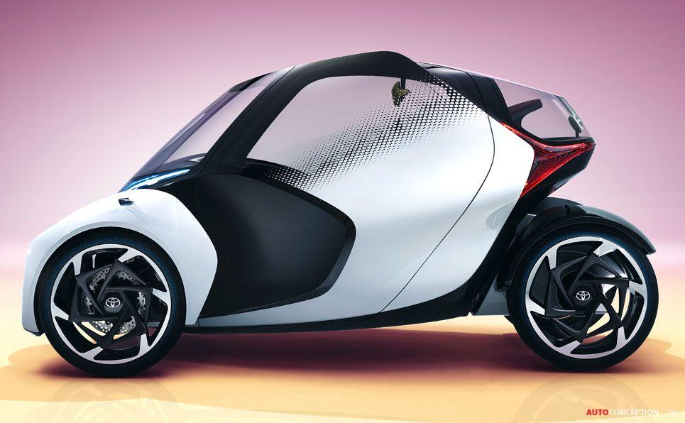 2017 Toyota I Tril Concept Fahrzeuge