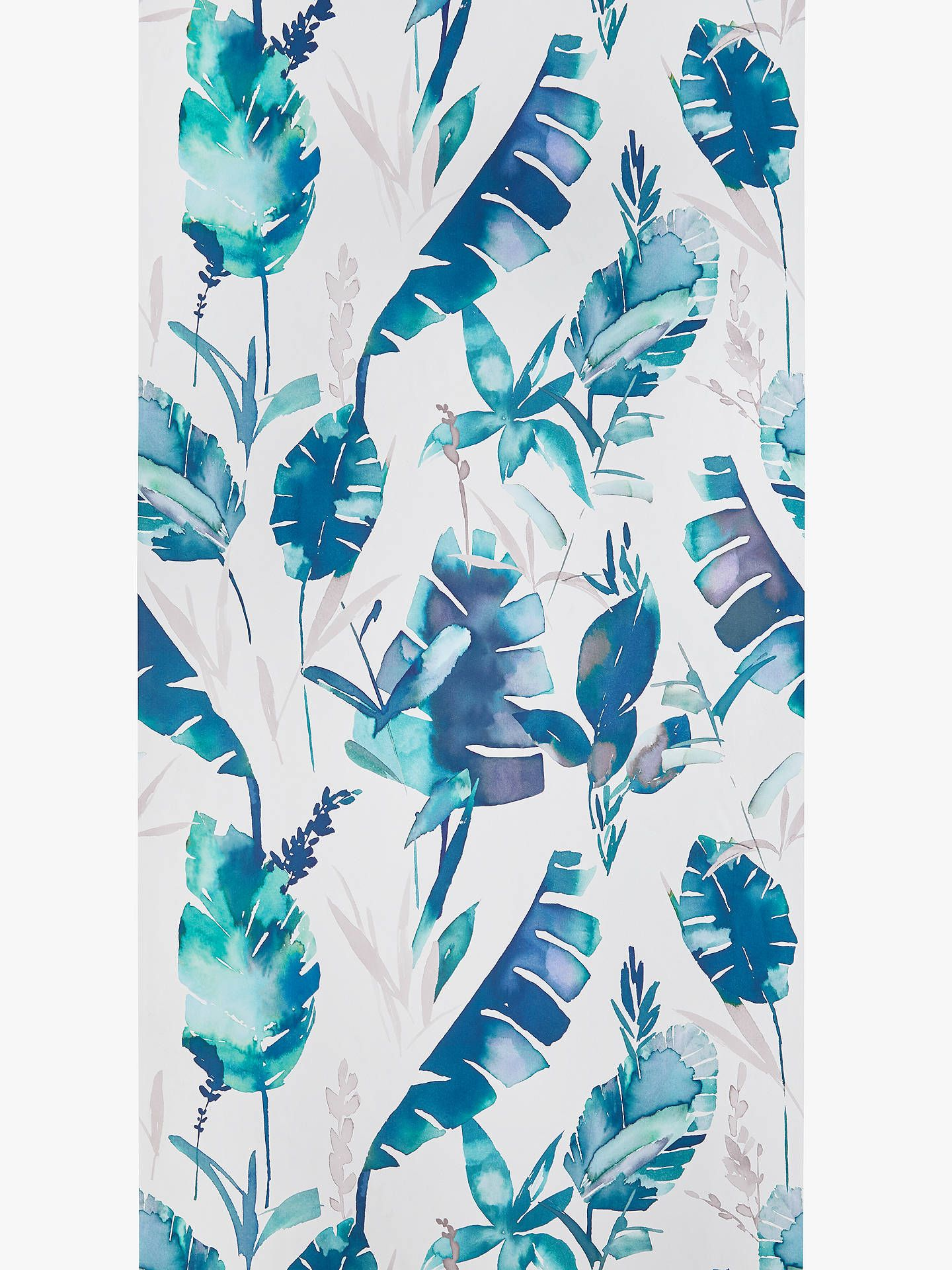 John lewis partners aralia wallpaper green with images