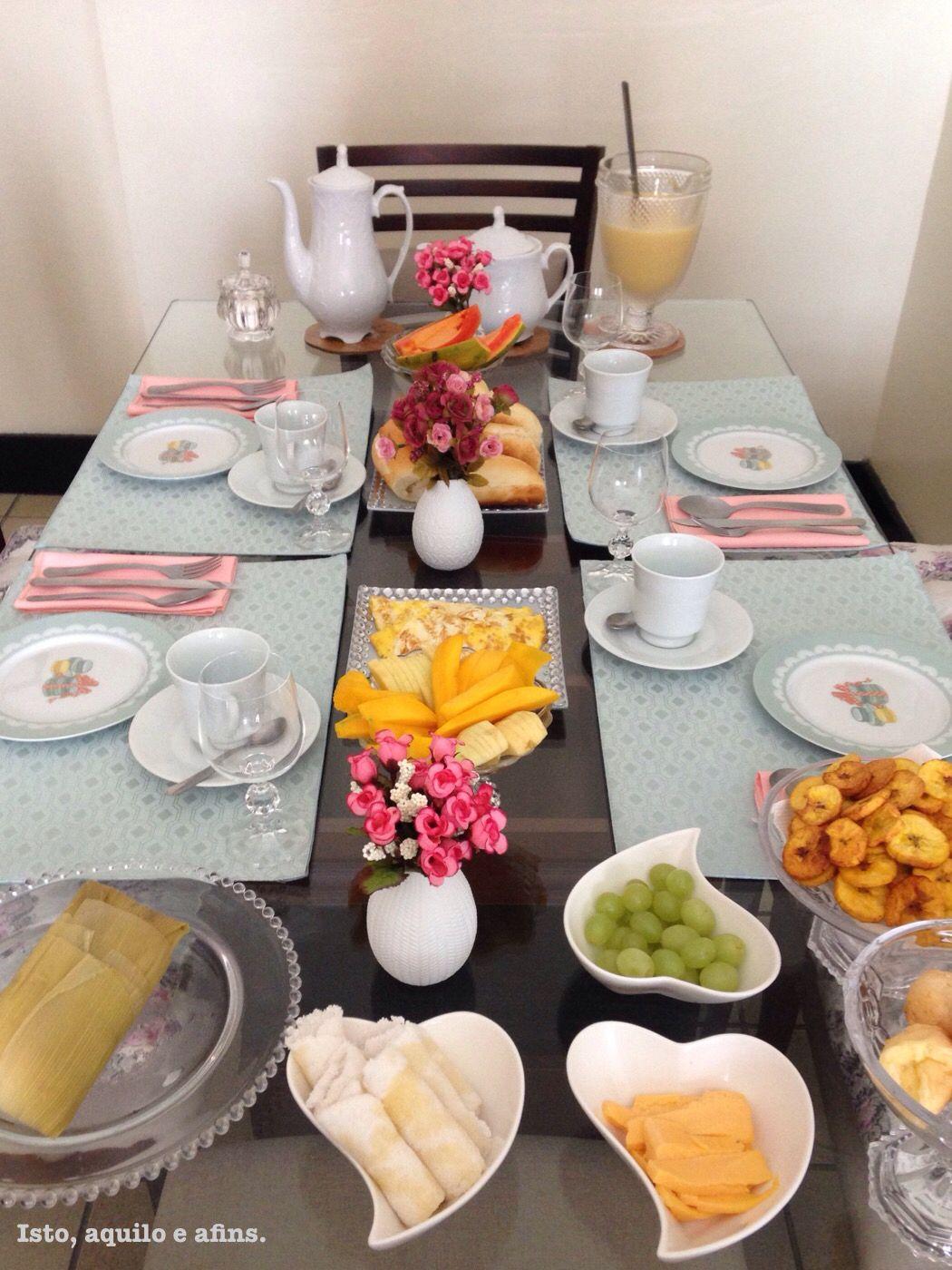 Café da manhã dia dos pais. @isto_aquilo_e_afins