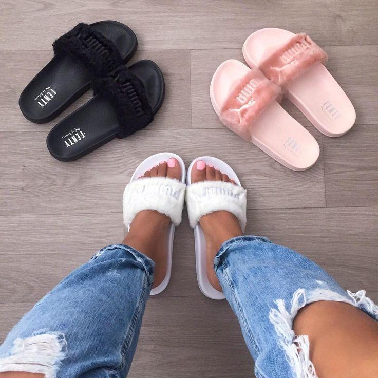 puma latest slippers