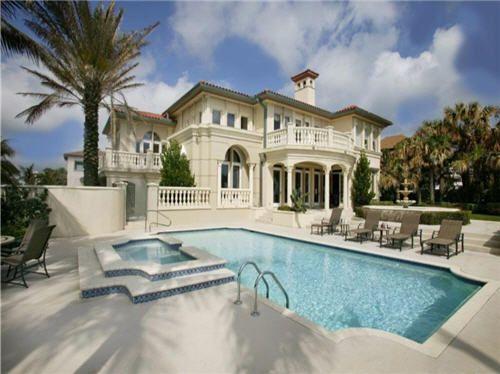 Million Exquisite Oceanfront Mediterranean Villa In Palm Beach Florida