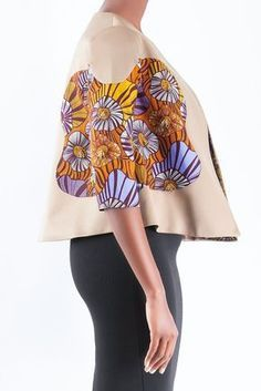 Boxy jacket #afrikanischerdruck BOXY JACKET #afrikanischerdruck