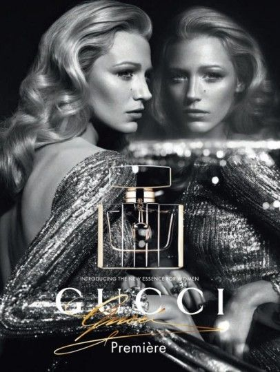 a2398f8dab7 Gucci Premiere Fragrance Advertising Campaign featuring the one and only  Blake Lively