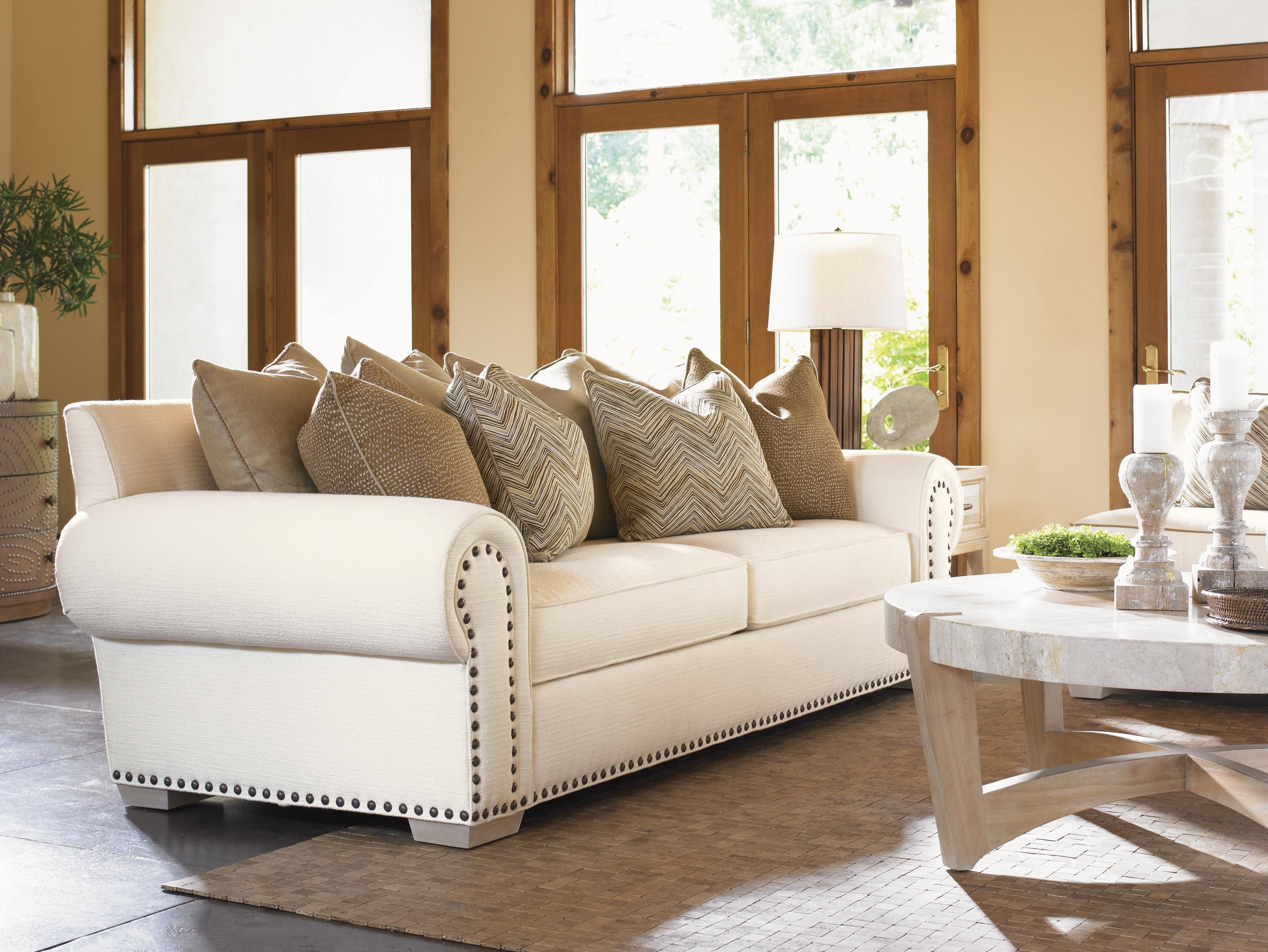Road To Canberra Ellerston Rolled Arm Loose Back Sofa With