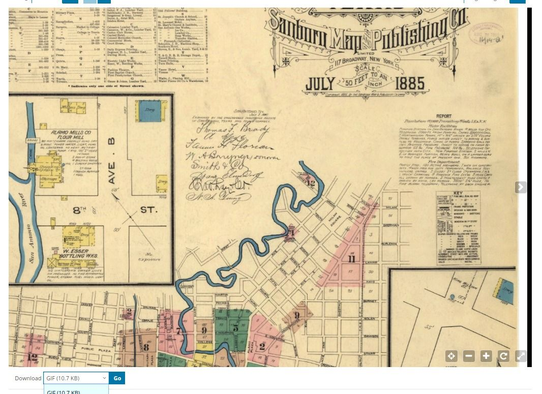 Travel Back in Time With Historic Sanborn Maps for