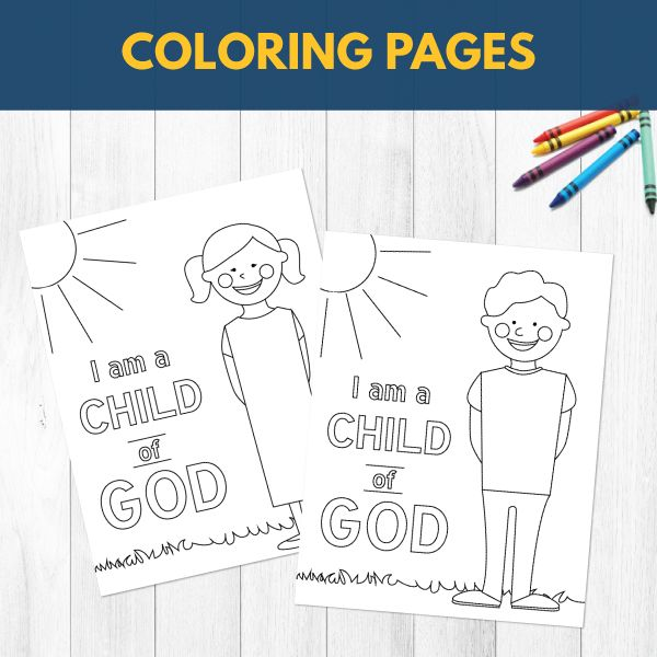 Primary 1 Lesson 1: I am Child of God (PDF Download