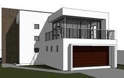 Modern 2 Storey House Design 3 Bedroom House Plan