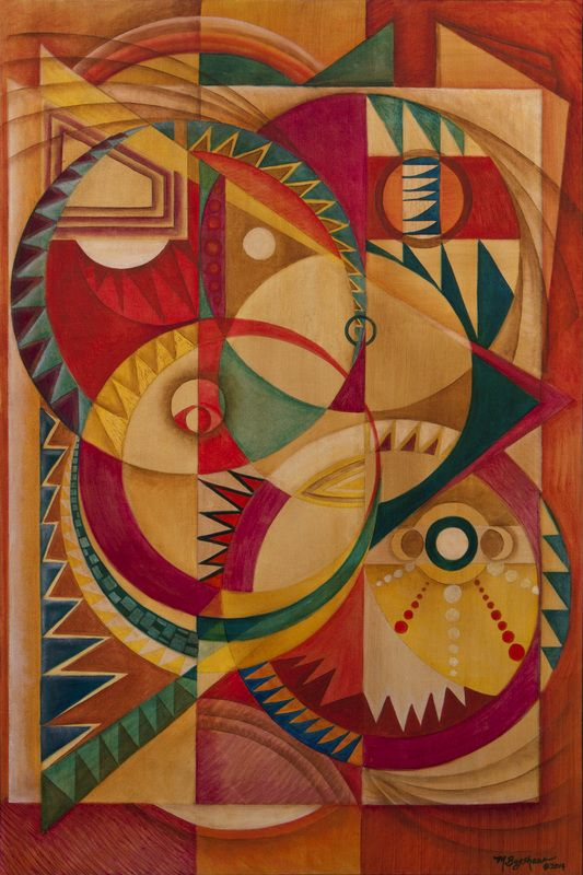 Modern Native American Abstract Art