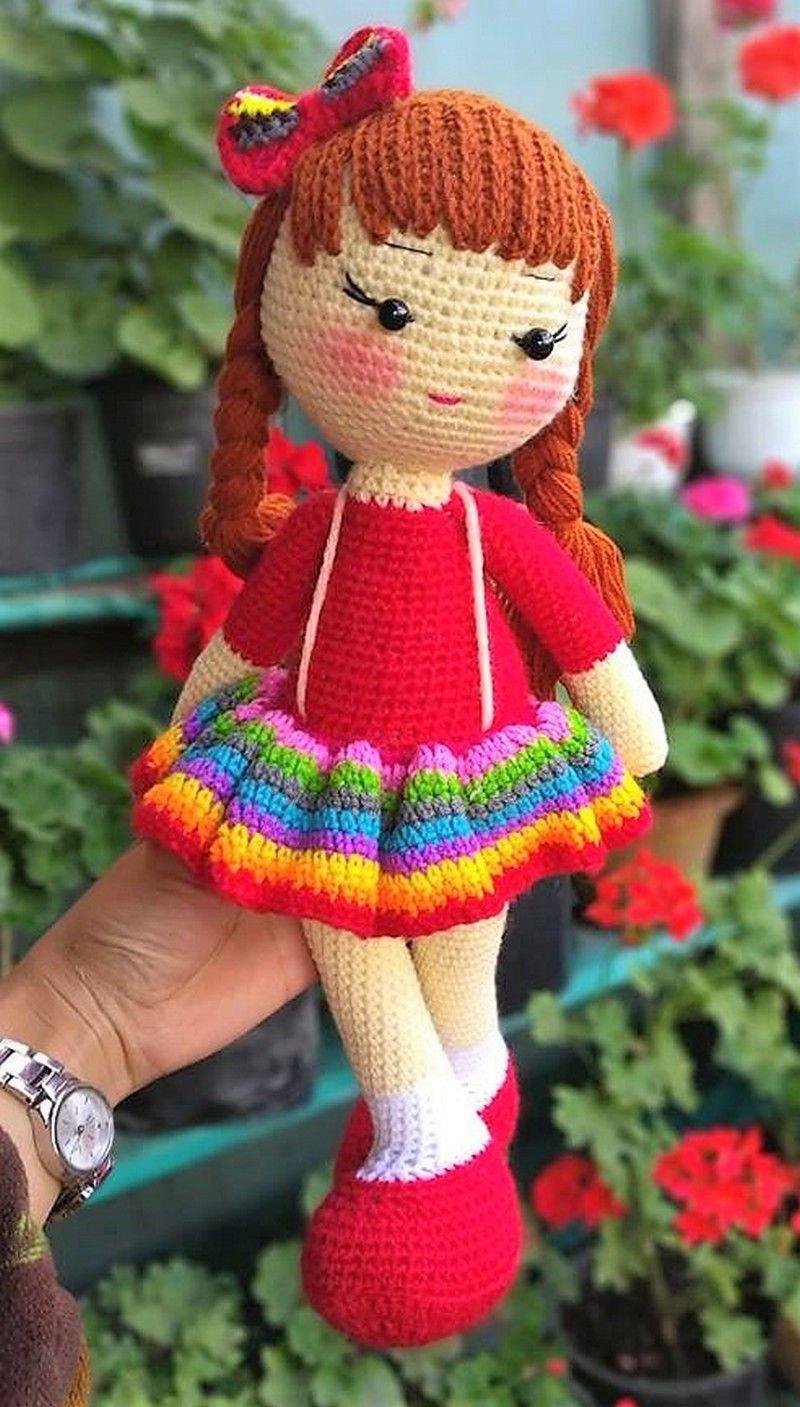 Super Design Ideas for Crochet Amigurumi Dolls #crochetdolls