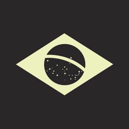 Duotone Brazilian Flag Com Imagens Bandeira Do Brasil Brasil