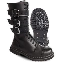 Photo of Brandit 3 Buckle Boots Black 39 Brandit