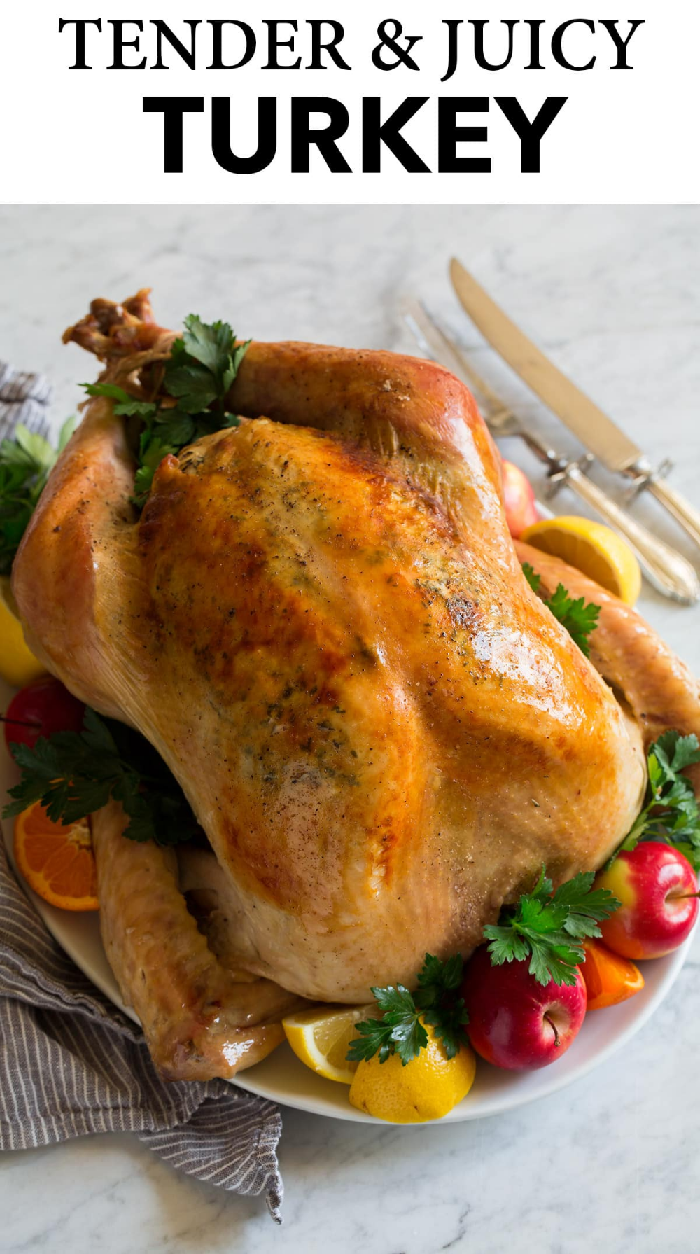 Easy Thanksgiving Roasted Turkey Here You Ll Learn All You Need To Know To Cook The Perfect Juicy And Tender Turk In 2020 Cooking Turkey Turkey In Oven Cooking Classy