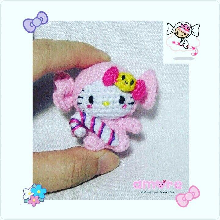 Amigurumi Hello Kitty dress as Tokidoki Caramella | Amigurumi ...