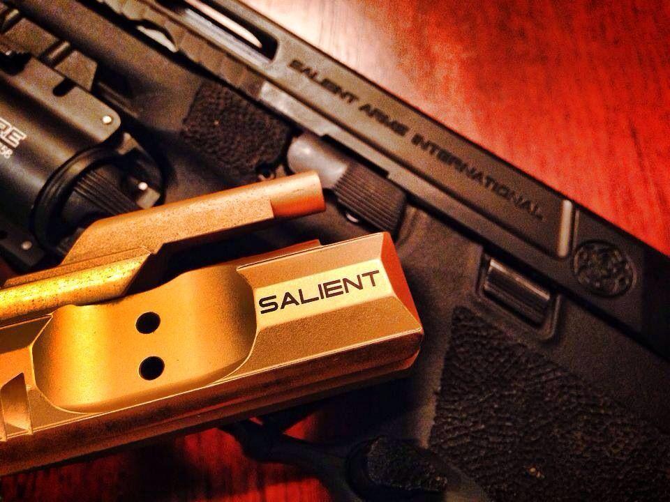 Salient Arms AR-15 Titanium Nitride (TiN) full-auto capable