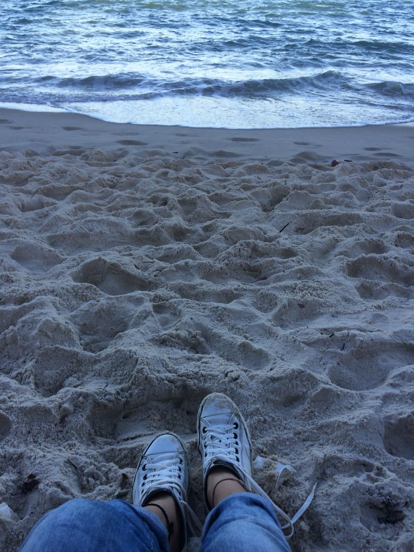 Tênis na praia