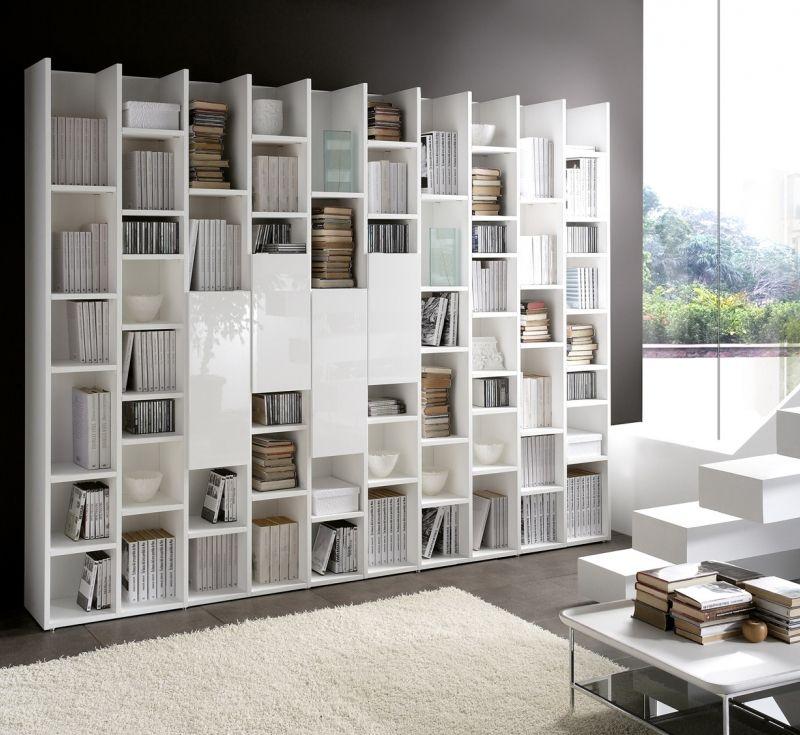 Llibrer a linea f de piferrer barcelona for Librerias salon modernas