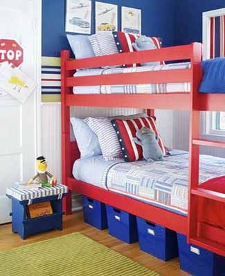 Patroitic Kids Rooms Inspired By Old Glory