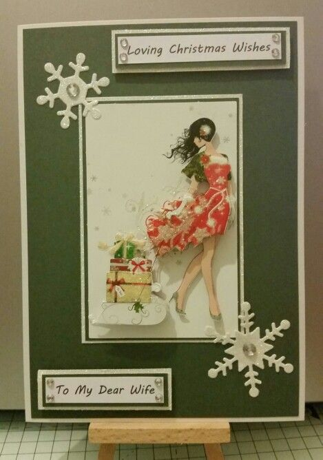 Christmas card for Wife
