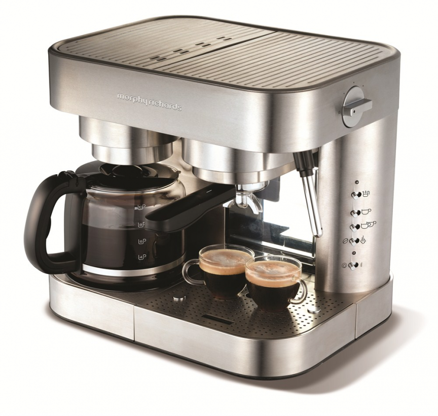 Elipta Espresso & Filter Combination Coffee Maker Coffee