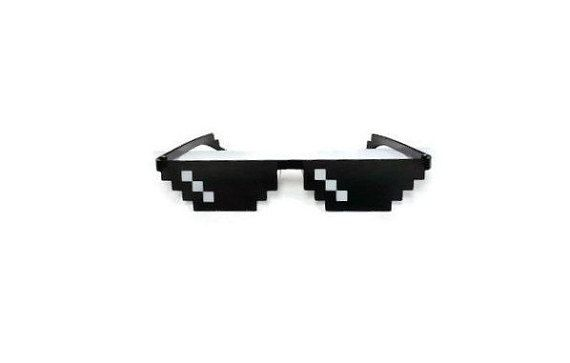 Meme Deal With It Sunglasses Thug Life Mlg Functional And Comfortable Sun Glasses For Everyday Wear Desenhos