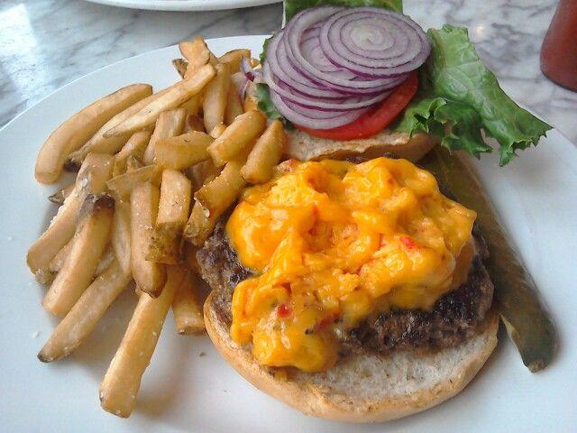 Pimento Cheeseburger - delicious!