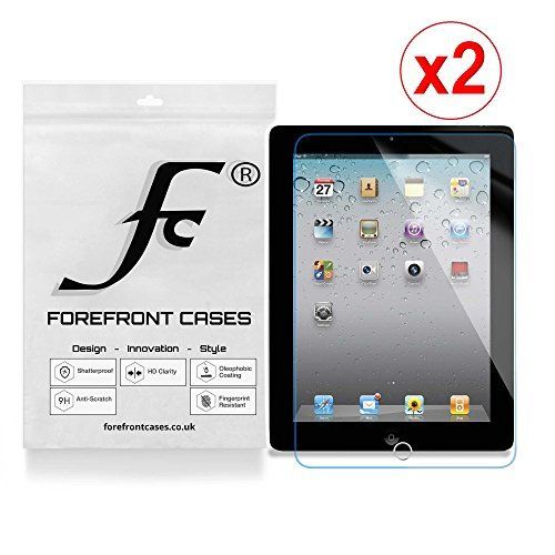 Forefront Cases� [HD CLARITY] Tempered Glass Screen Protector Guard Cover Film for Apple iPad 3 / 4 (3rd & 4th Generation) A1458 [ULTRA THIN only 0.3mm] - PACK OF 2