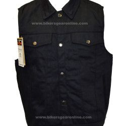 Denim Motorcycle Jacket for Men