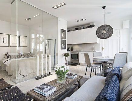 Leuk idee voor inrichten van kleine woonkamer | inrichting ...