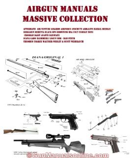 weihrauch air rifle gun owners manuals parts lists and exploded rh pinterest com