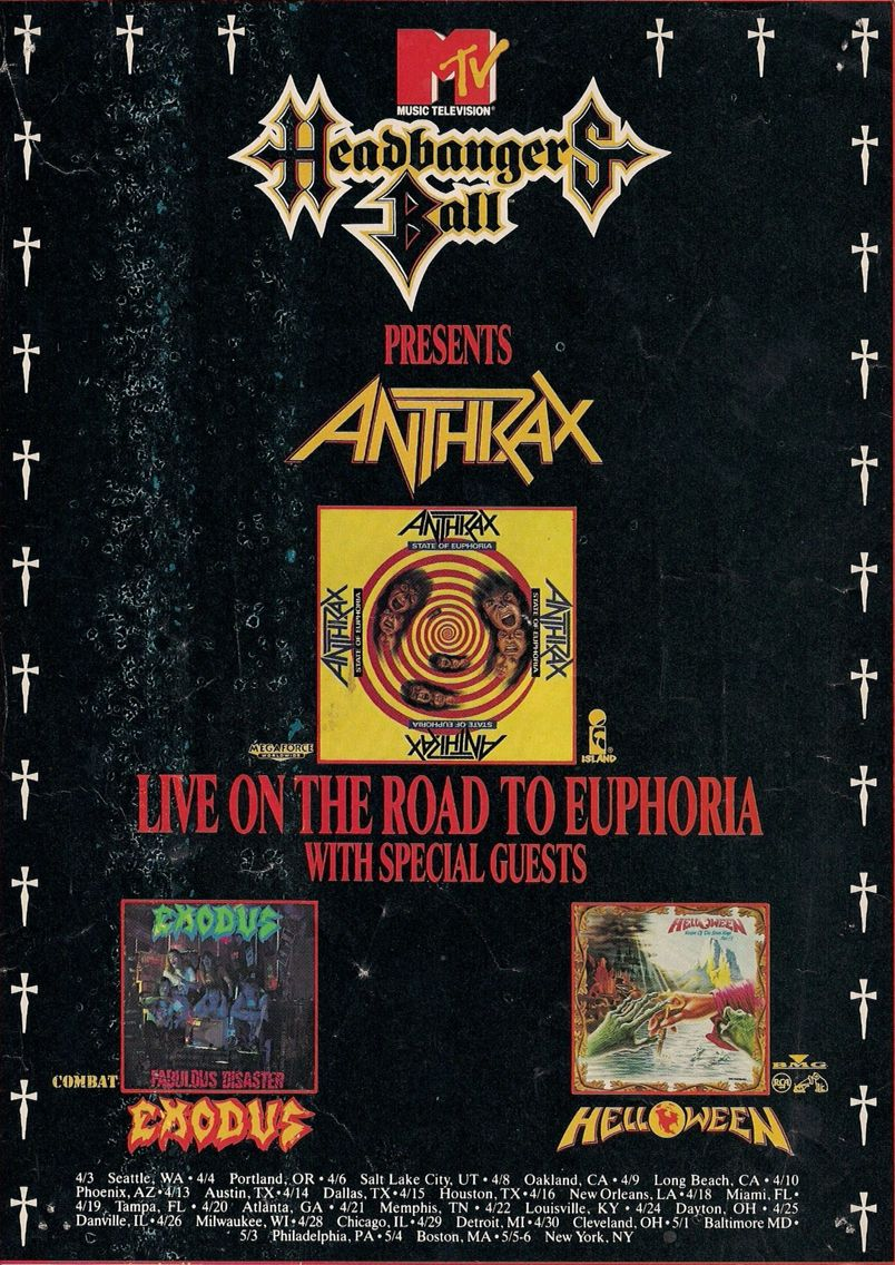 Headbanger's Ball presents Anthrax, Exodus, and Helloween