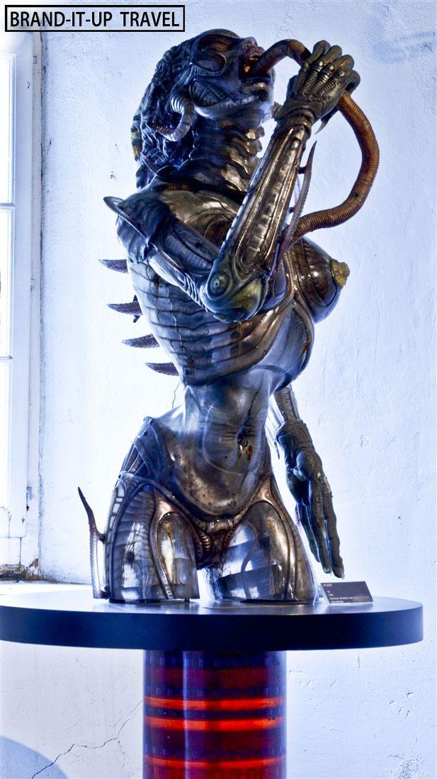 H.R.Giger Museum, Gruyères (Switzerland) on Brand-it-up ... H.r. Giger Queen Alien