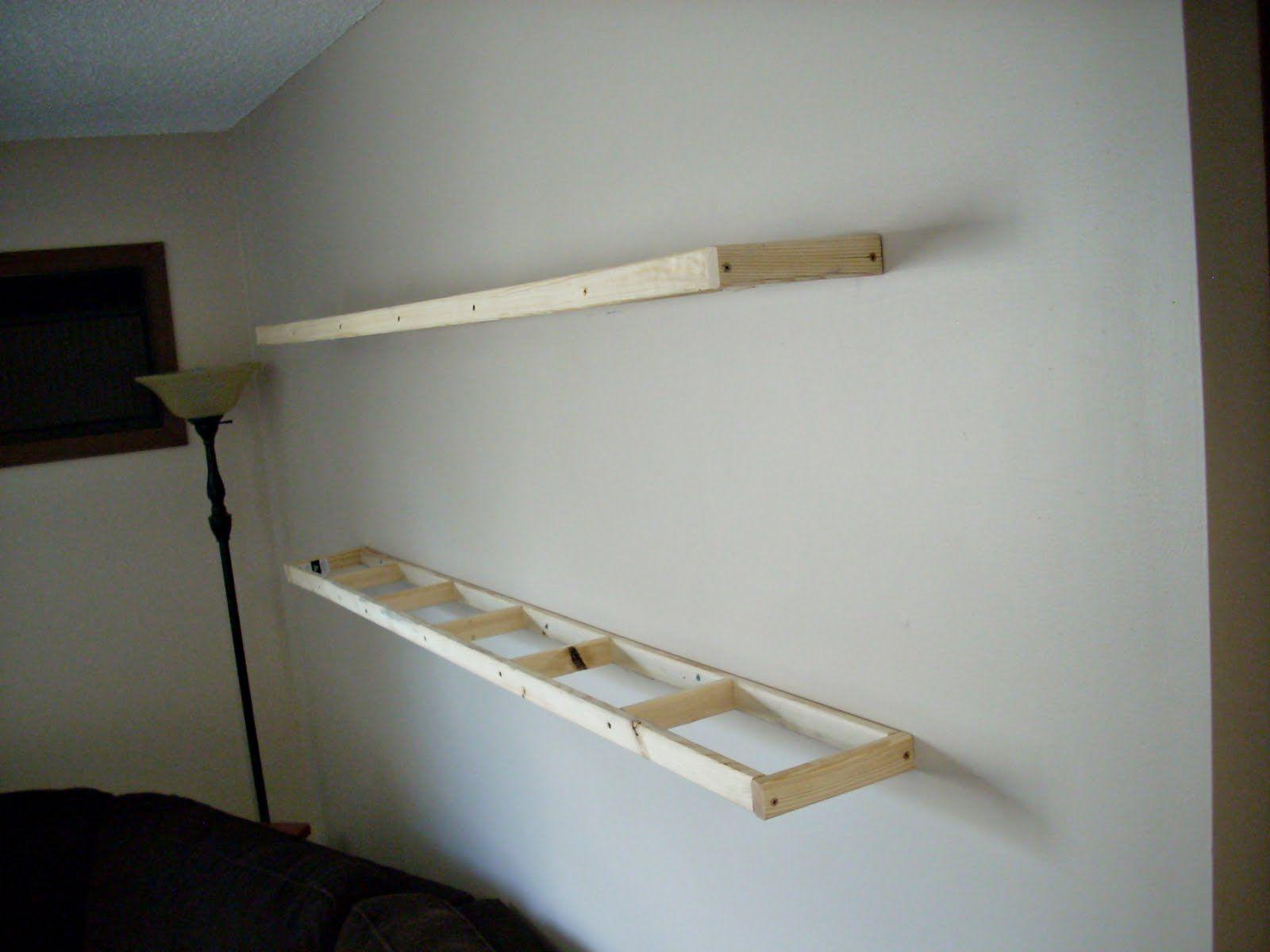 diy floating desk diy home. Diy Floating Shelves - Google Search | New Home Design Ideas Pinterest Cream Wall Paint, Oak And Walls Desk