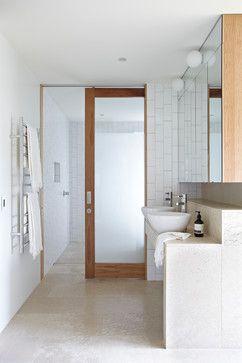 Sliding Glass Bathroom Door Home Design Decorating And
