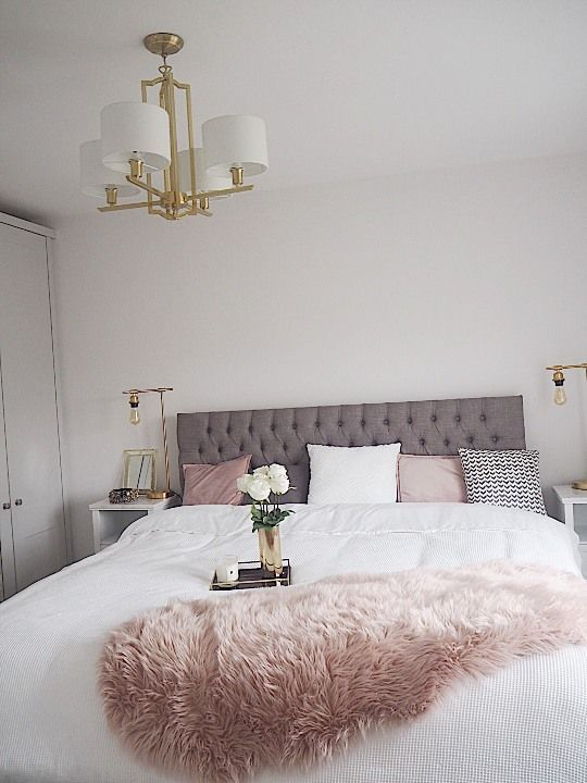 Interiors: How I styled the bedroom | Pink bedroom decor ...