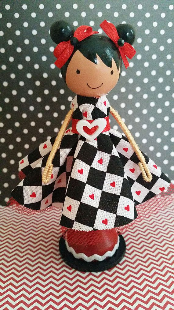Hailey Miniature Wooden Clothespin Doll | Want It | Wood ...