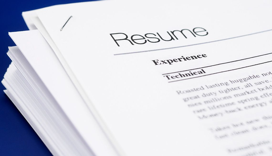 How to show on your resume professional